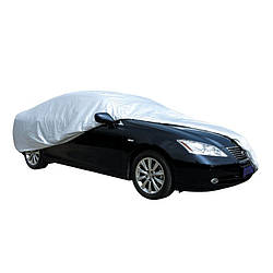 Тент автомобильный Vitol CC11105 S серый Polyester 406х165х119 (F 170T/F 14062 S)