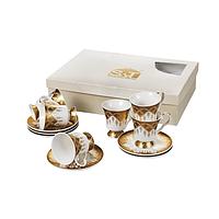 Сервиз кофейный Золотая соната 12 предметов 030-12-90