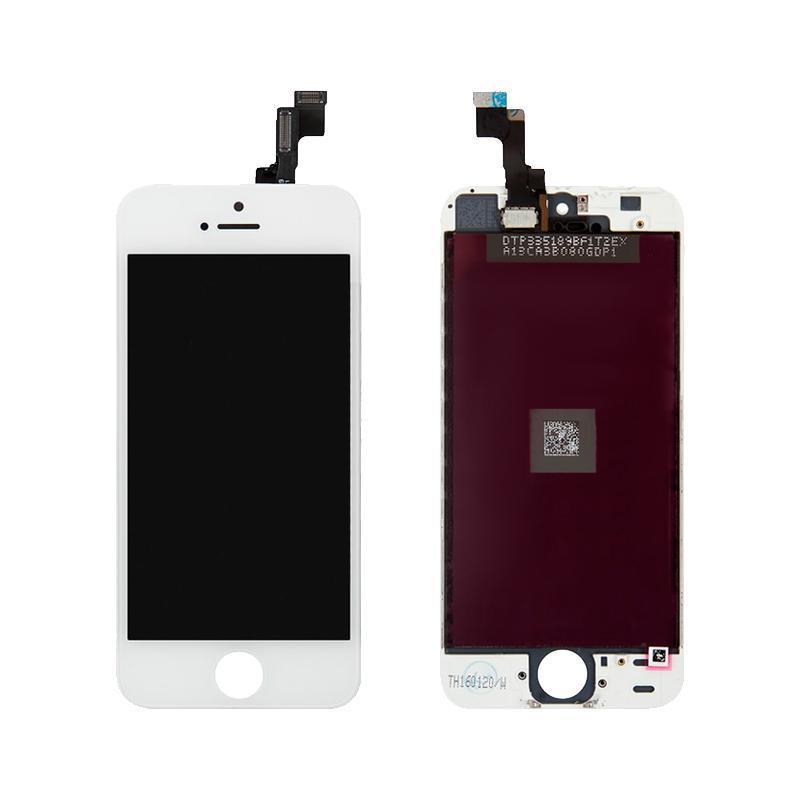 Дисплей iPhone 5S с белым сенсором 100%