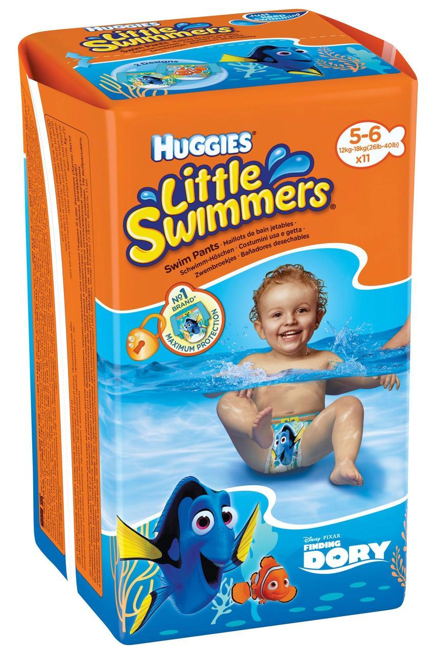 Трусики для плавания Huggies Little Swimmers р.5-6 12-18 кг 11 шт