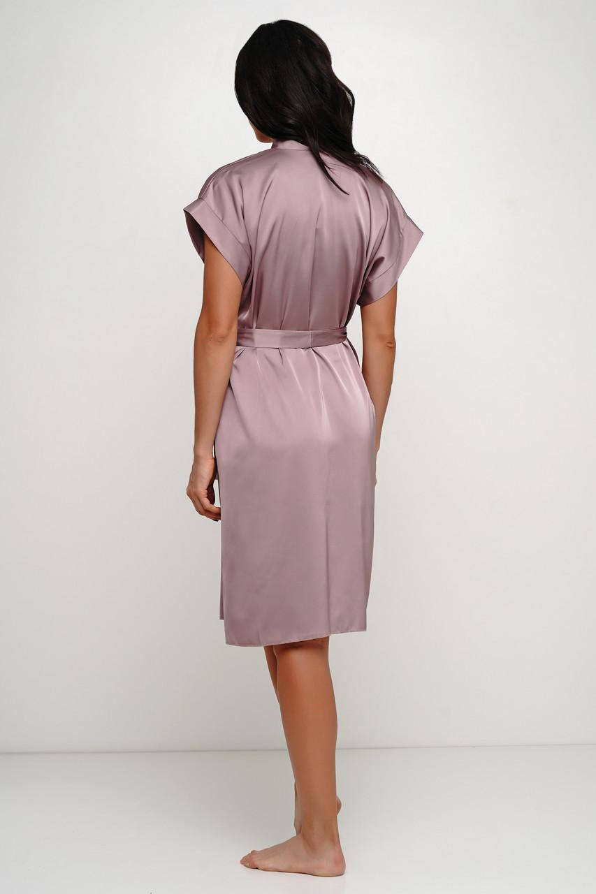 Женский шелковый халат