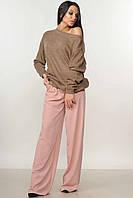 Брючный женский капучино-пудра костюм RiMari Микаэль-Шер  42, 44, 50, 52