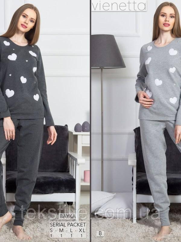 Пижама женская Байка брюки Vienetta