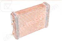 Радиатор отопителя ВАЗ 2101 (медный) (3-х рядный) (пр-во Иран). 2101-8101060