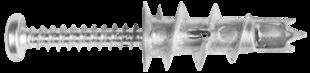 DRA 02 DRIVA Нейлоновый дюбель со сверлом для крепления в гипсокартонных стенах