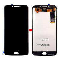 Дисплейный модуль (LCD + touch) Motorola Moto E4 Plus (XT1770) черный original