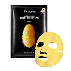 JMsolution Water Luminous Golden Cocoon Mask Black Маска з протеїнами золотого кокона шовкопряда Корея