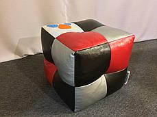 Пуфик кубик Экокожа Condor, фото 2