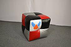 Пуфик кубик Экокожа Condor, фото 3