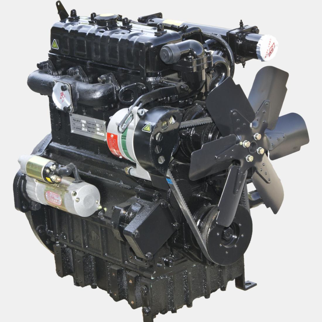 Двигатель дизельный TY395IT на трактор