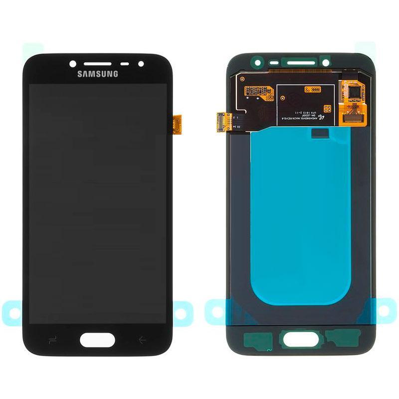 Дисплей і сенсор (модуль) на Samsung J250F, J2 - 2018 чорний (100% оригинал)