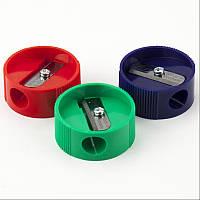 Точилка пластиковая Kum круглая ассорти
