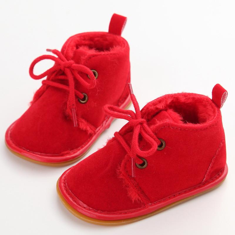 Демисезонные ботинки пинетки на полноценной подошве.