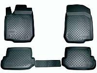 Коврики салона (полиуретановые) черные Renault duster (рено дастер 2010+)