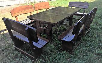 Деревянная авторская мебель из массива дерева в Киеве