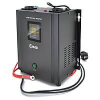 ИБП с правильной синусоидой Europower PSW-EP500WM12 (300 Вт) 5/10А настенный, под внешнюю АКБ 12В , Q2