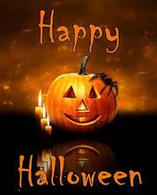 Вафельная картинка Halloween