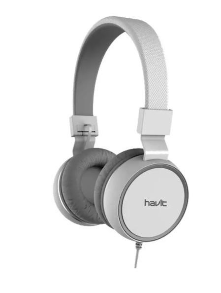 Наушники Havit HV-H2216D, White Grey
