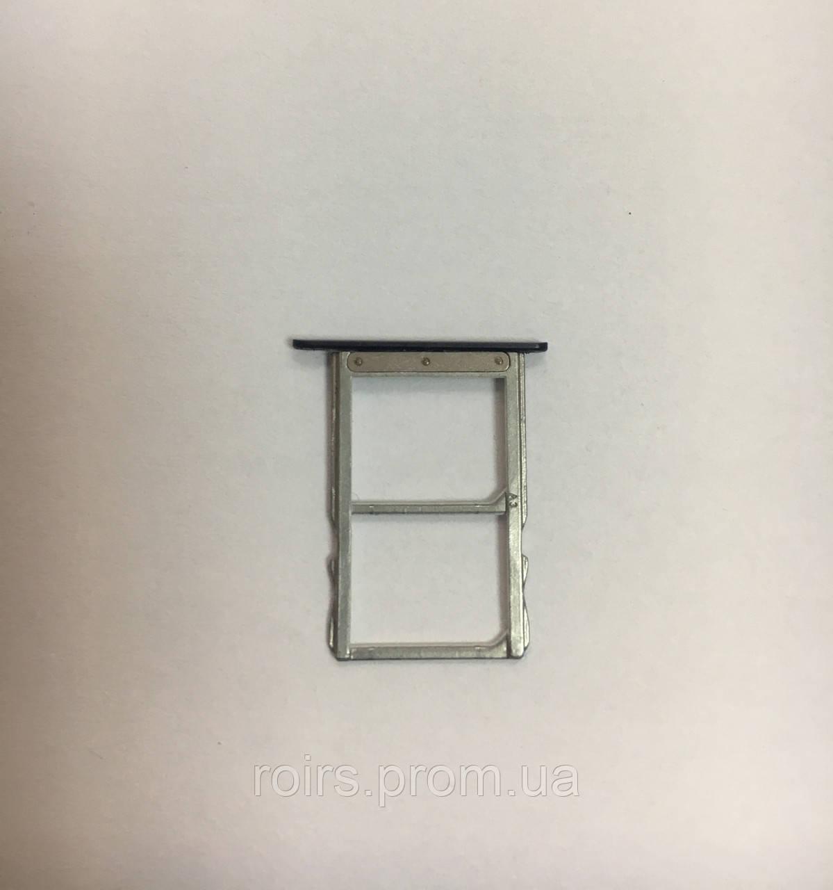 Держатель сим карты Meizu Pro 6 orig Б/У
