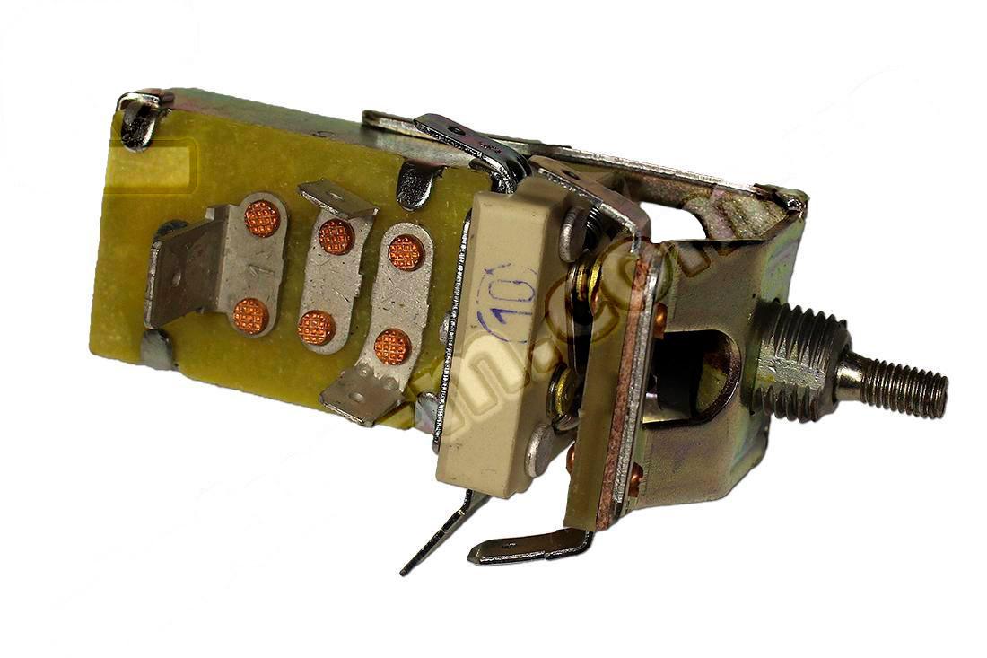Переключатель света центральный (ЦПС) Газель, Волга 3110, Соболь (пр-во Лысково). 411.3709