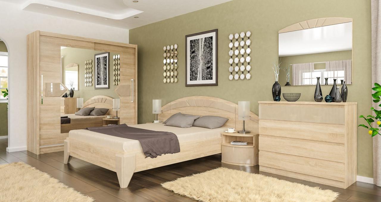 Спальня Мебель-Сервис «Аляка»