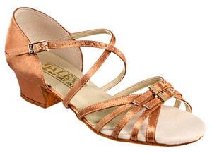 Танцевальная обувь девочек блок каблук - Leron ch