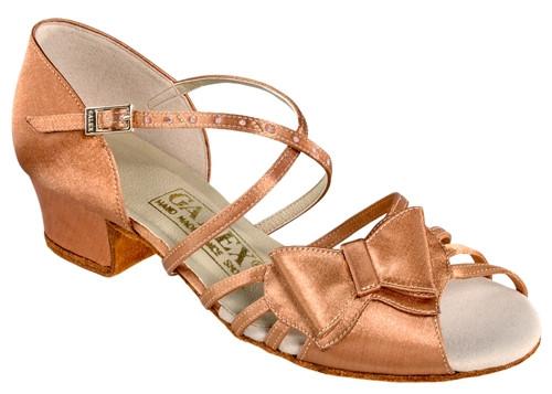 Танцювальне взуття дівчаток блок каблук - Bantik ob