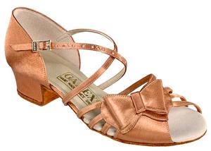 Танцевальная обувь девочек блок каблук - Bantik ob