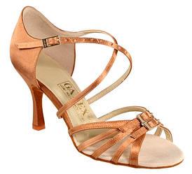 Женская латина обувь для бальных танцев - Leron