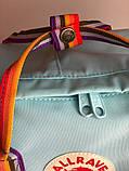Рюкзак Fjallraven Kanken Classic (blue), рюкзак Канкен, портфель канкен, фото 5