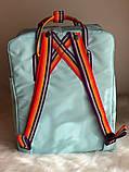 Рюкзак Fjallraven Kanken Classic (blue), рюкзак Канкен, портфель канкен, фото 4