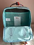 Рюкзак Fjallraven Kanken Classic (blue), рюкзак Канкен, портфель канкен, фото 3
