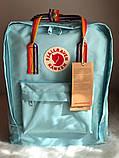 Рюкзак Fjallraven Kanken Classic (blue), рюкзак Канкен, портфель канкен, фото 2