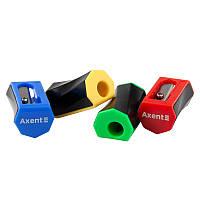 Точилка пластиковая Axent Flex ассорти
