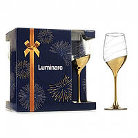 "Набор бокалов для вина Celeste 6 штх350 мл ""Золотое кольцо"" ARC P1653"