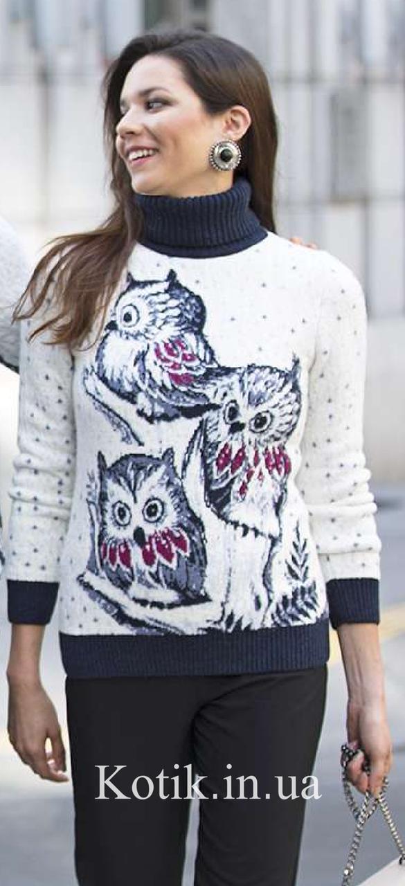 Свитер женский Pulltonic Owls