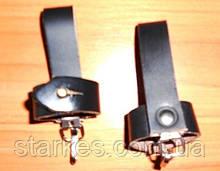 Чехлы кожаные под штык - нож, черного цвета, код : 542.