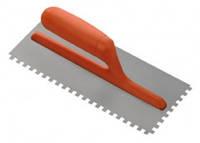 Шпатель зубчатый металлический