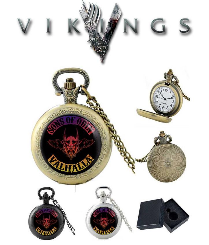 Карманные часы Сыны Одина Валхалла Викинги / Vikings