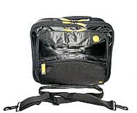 66445 Портфель чёрный для ноутбука Benetton