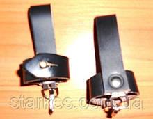 Чехлы кожаные под штык - нож, черного цвета, код : 543.
