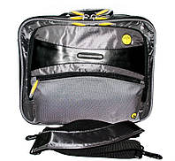 66445 Портфель серый для ноутбука Benetton