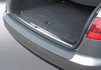 Накладка на задний бампер Audi A6 С6 Avant 2004-2011, ABS-пластик