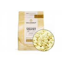 Белый Бельгийский шоколад BARRY CALLEBAUT Velvet ( Барри Каллебаут), 100 грамм