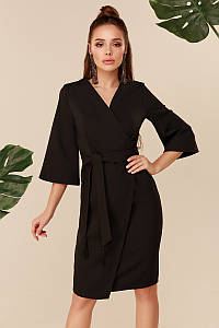 Женское платье с кисточкойЧерный