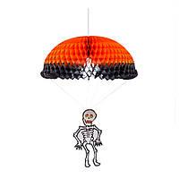 Kaktus Помпон бумажный Скелет с парашютом 70см