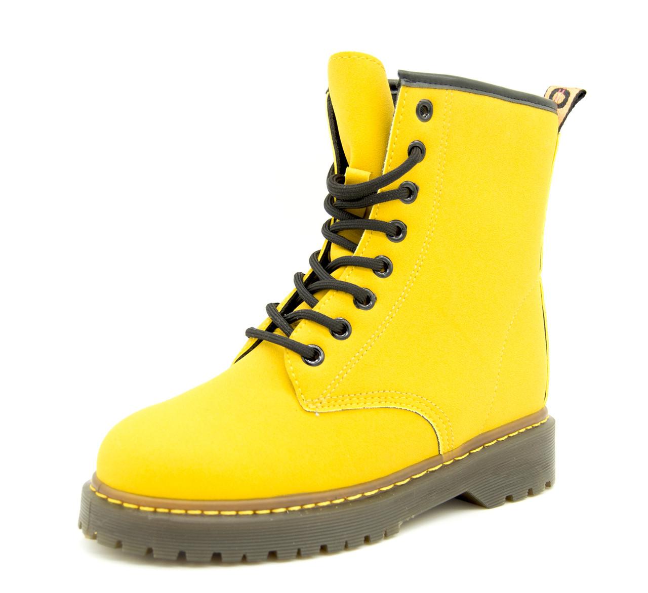 Демисезонные ботинки Angel by Violeta Wonex для девочки Цвет - Желтый