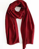 Кашемировый шарф Chadrin с шелком красный, фото 1