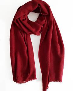 Кашемировый шарф Chadrin с шелком красный