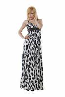 Платье длинное летнее белого цвета,сарафан атласный праздничный с завышенной талией с открыто спиной